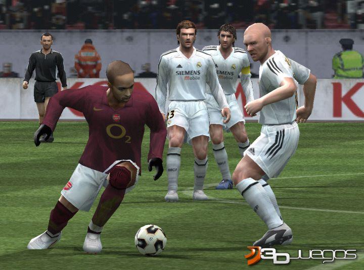 juego de pro evolution soccer 5: