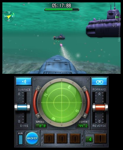 Steel Diver Sub Wars (Nintendo 3DS)