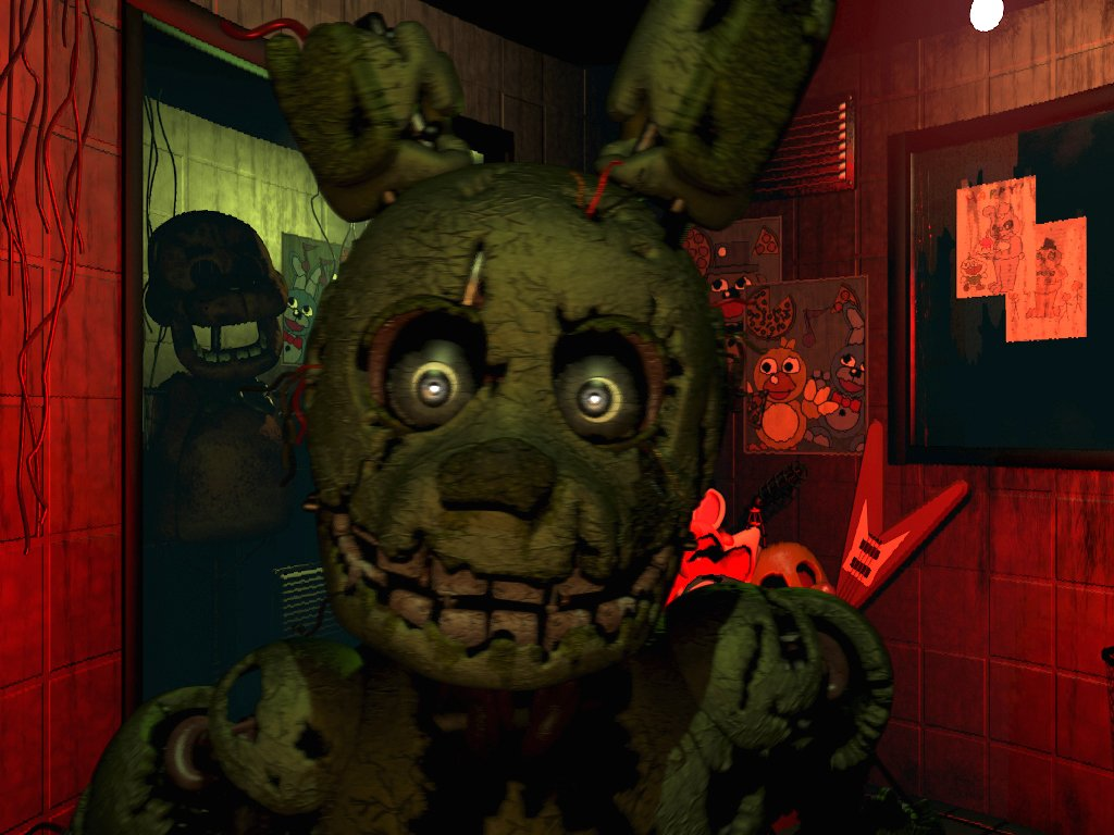 Imagen Five Nights at Freddy's 3 (PC)