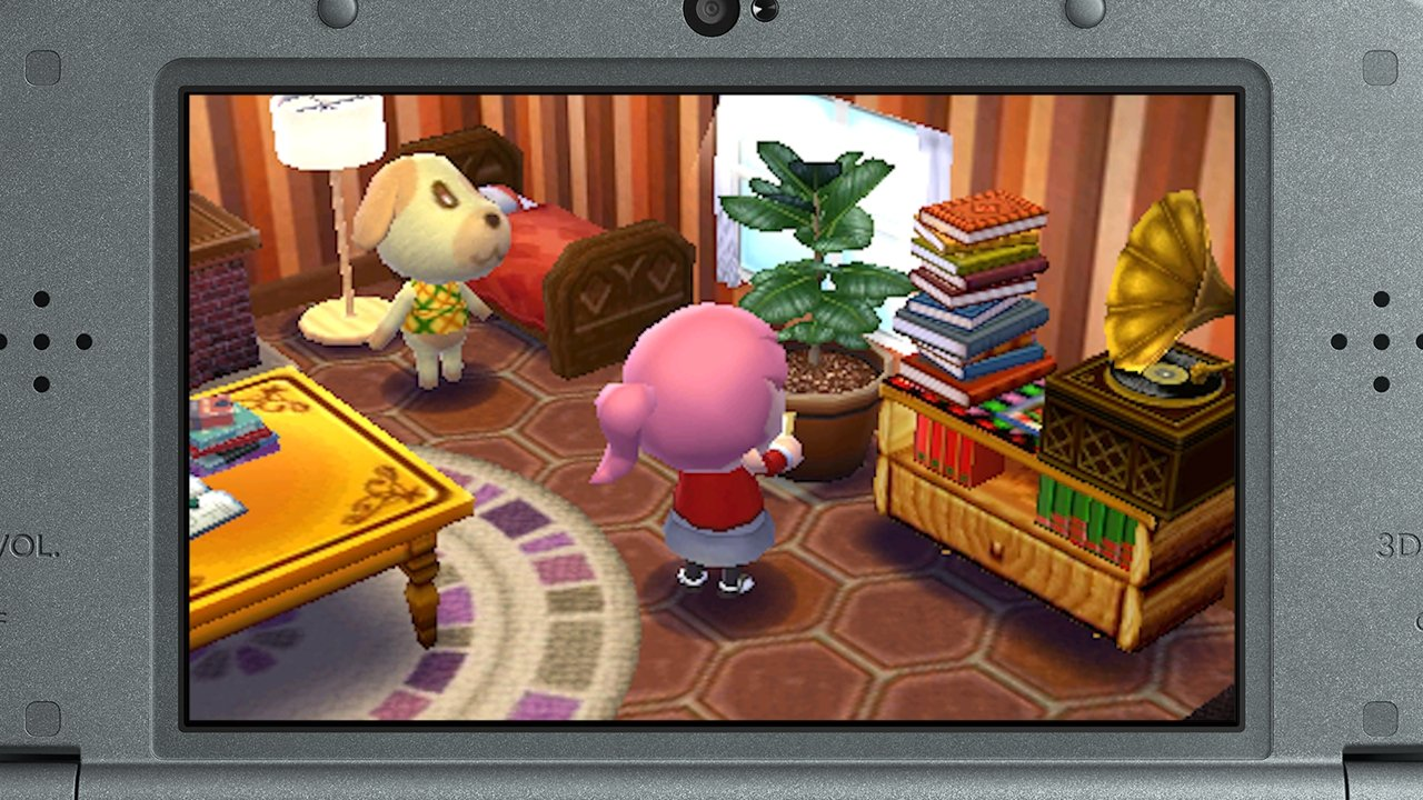 Animal crossing happy home designer nintendo 3ds 3djuegos for 7 11 happy home designer