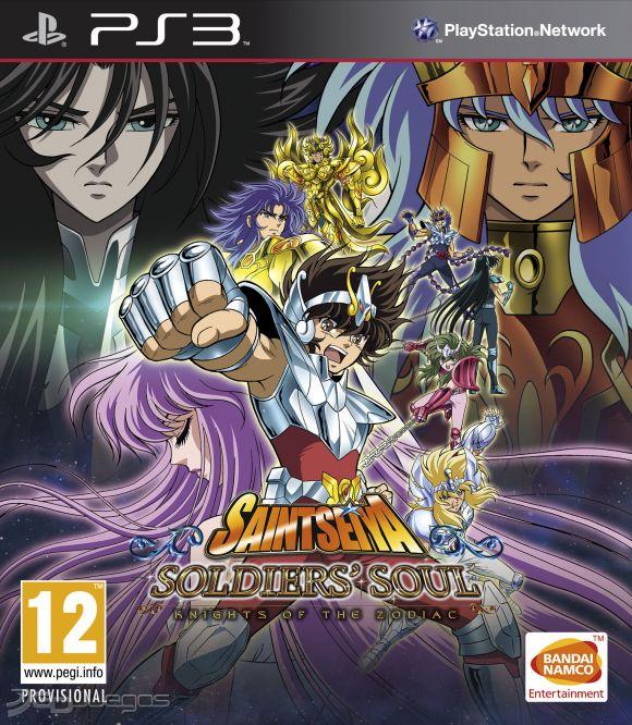 Descarga gratis el juego de  Saint Seiya Soldiers' Soul para PS3 en español
