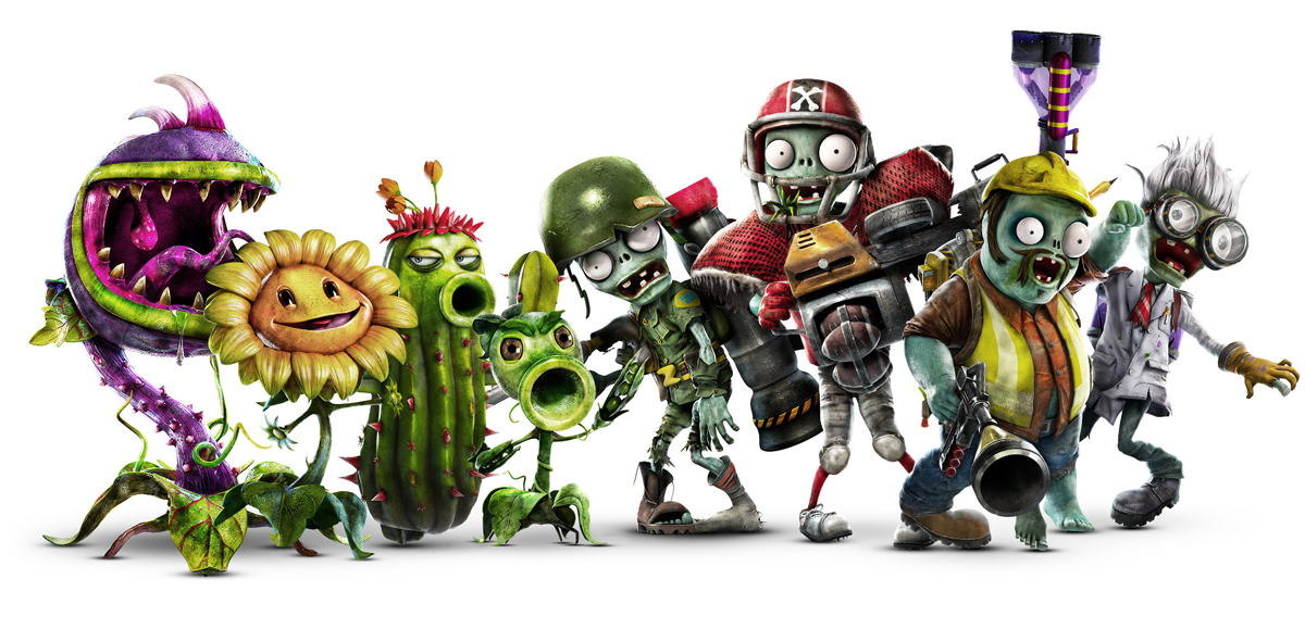 Plants Vs Zombies Garden Warfare 2 Ps4 Guerra En Tu