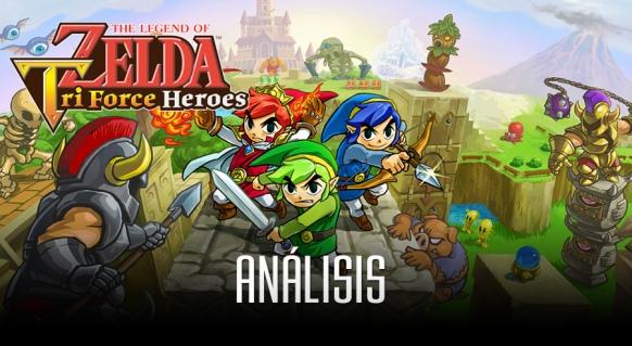 An�lisis de Zelda: Tri Force Heroes