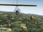 Pantalla Microsoft Flight Simulator X