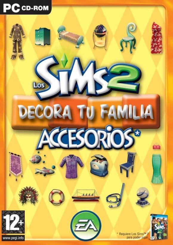 Carátula de Los Sims 2 Accesorios