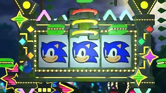 Video Sonic Forces, Tráiler Gameplay: Casino Forest