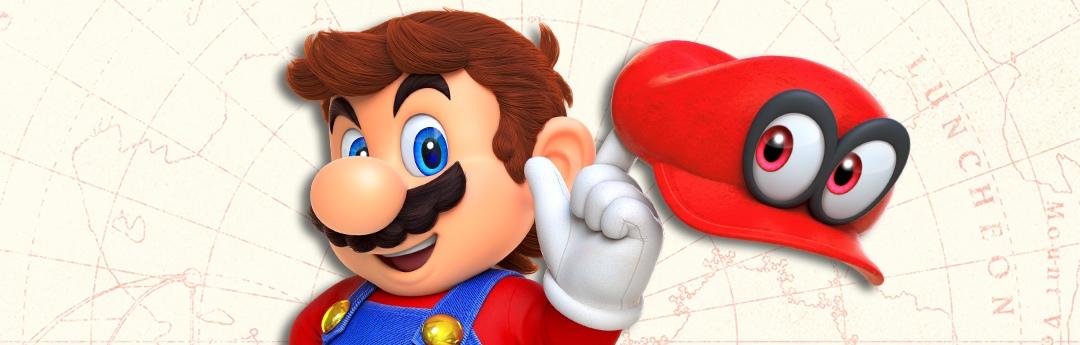 Super Mario Odyssey - Video entrevista + Impresiones