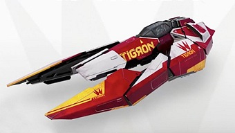 Video WipEout Omega Collection, Presentación del Tigron K-VSR