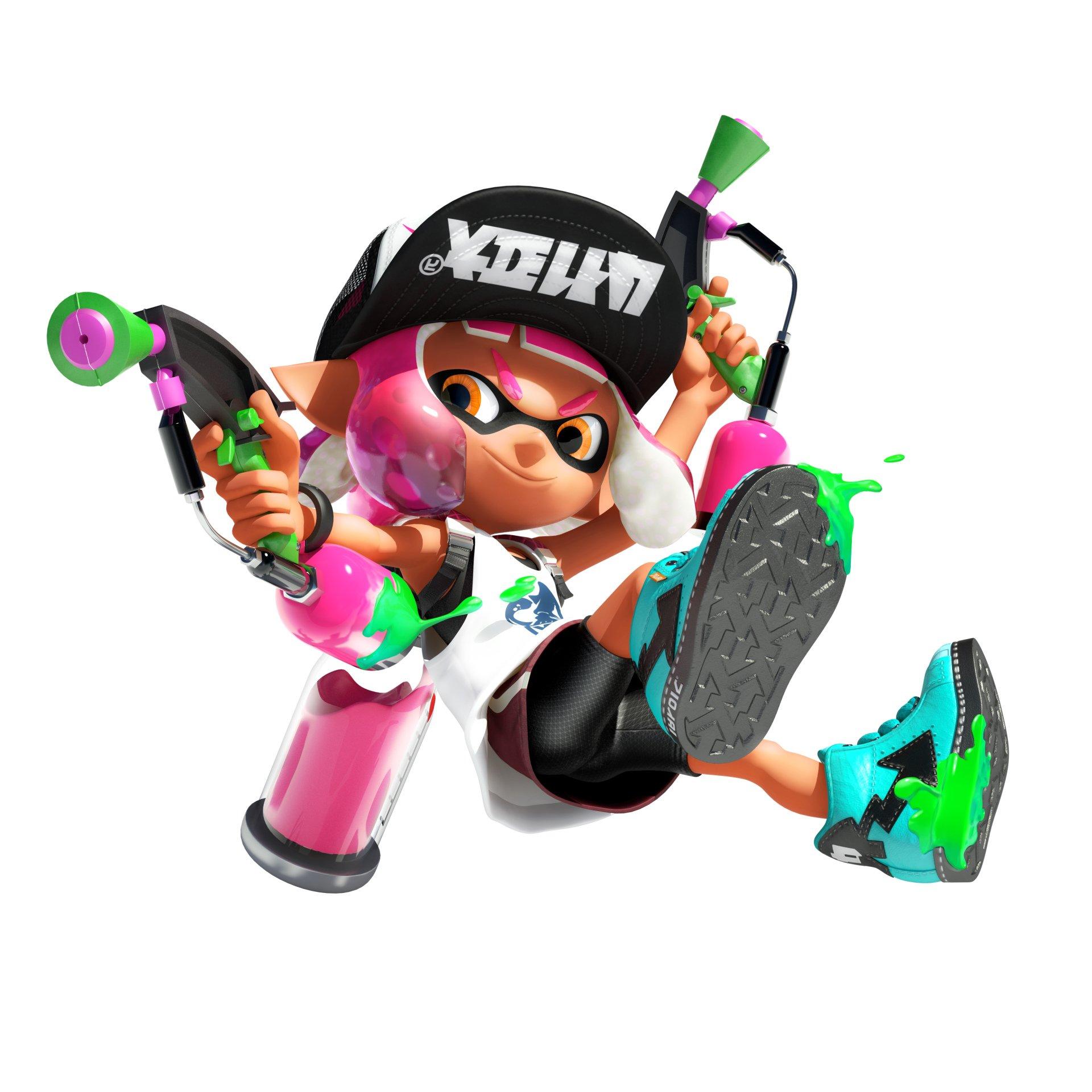 Im 225 Genes De Splatoon 2 Para Nintendo Switch 3djuegos