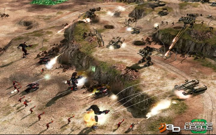 Command And Conquer 3 4 - Command and Conquer 3 - Tiberium Wars