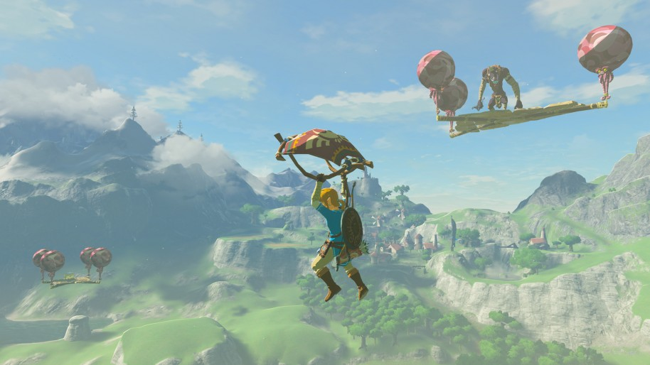 The Legend of Zelda Breath of the Wild - Las Pruebas Legendarias Wii U