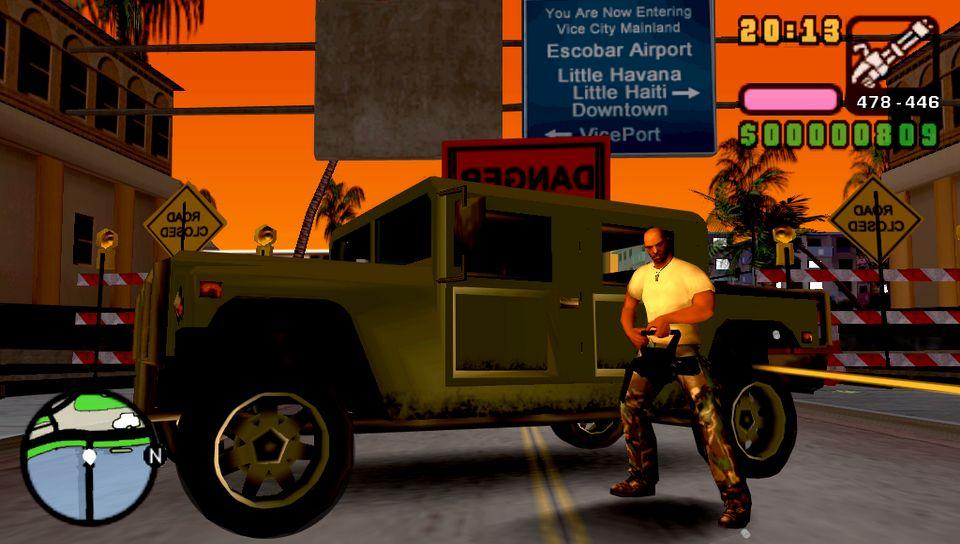 An 225 Lisis De Grand Theft Auto Vice City Stories Para Ps2