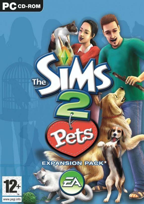 Carátula de Los Sims 2 Mascotas
