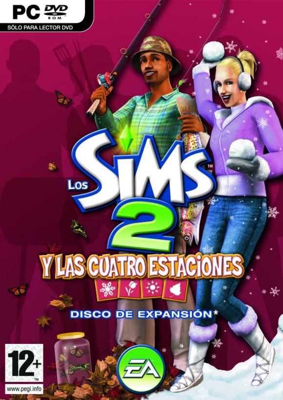 Carátula de Sims 2: Las Cuatro Estaciones