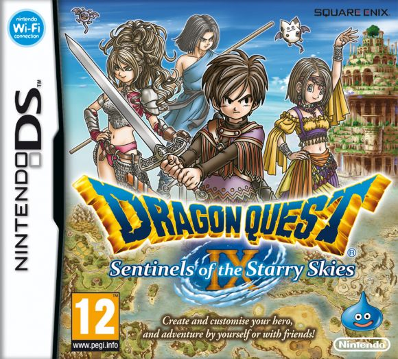 Car�tula de Dragon Quest IX