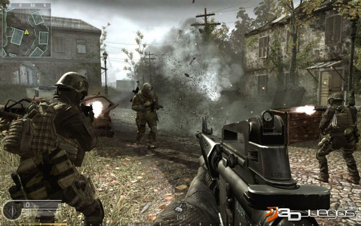 Call of Duty 4 Modern Warfare - An�lisis