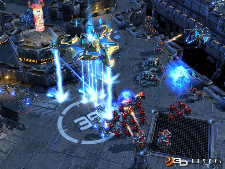 StarCraft 2 Wings of Liberty - Primer contacto