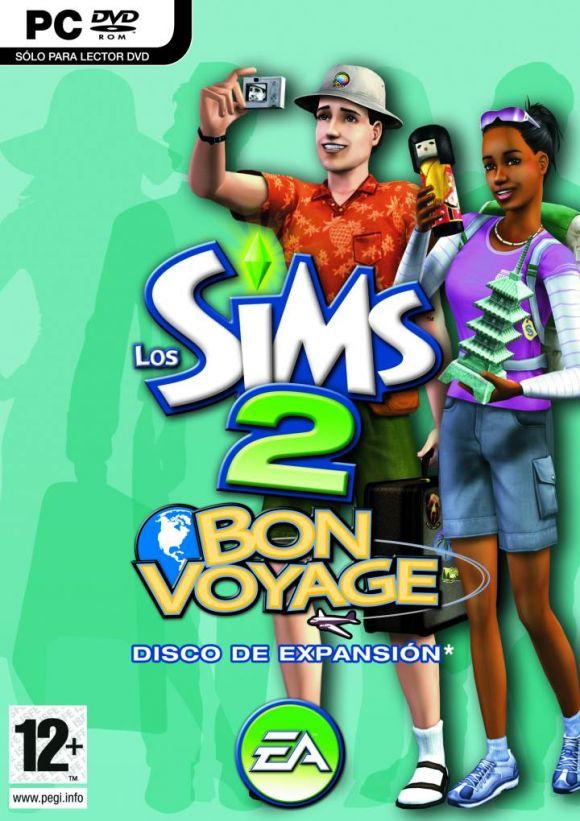 Carátula de Los Sims 2: Bon Voyage