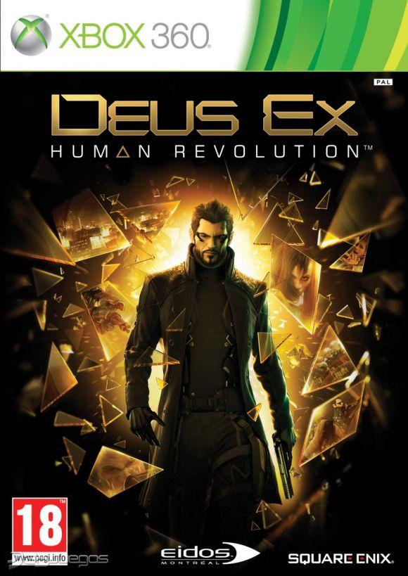 Carátula de Deus Ex: Human Revolution