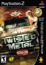 Cartula de Twisted Metal Head-On