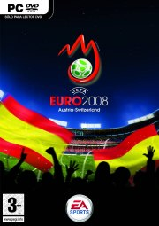 Car�tula oficial de UEFA EURO 2008 PC