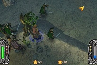 El Señor de los Anillos Conquista (Nintendo DS)
