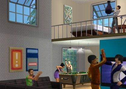 Los Sims 2 Comparten piso