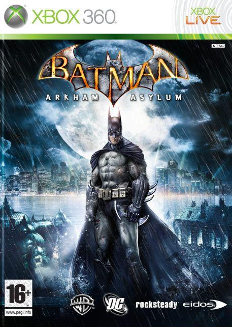 Carátula de Batman: Arkham Asylum