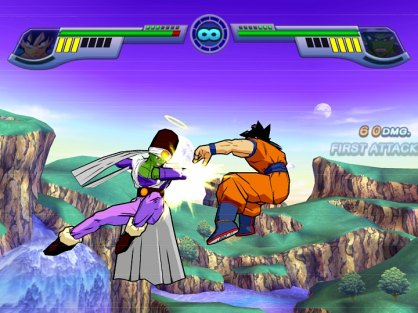 similar a la empleada en Dragon Ball Z: Burst Limit (PlayStation 3