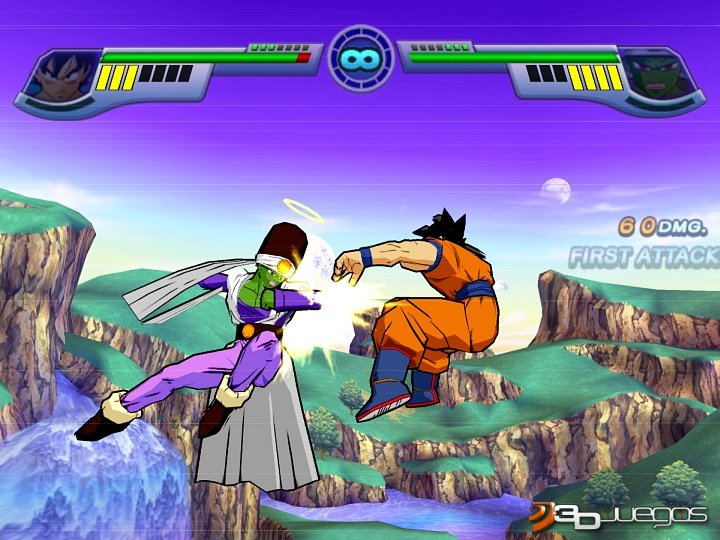 Dragon Ball Z Infinite World - Primer contacto