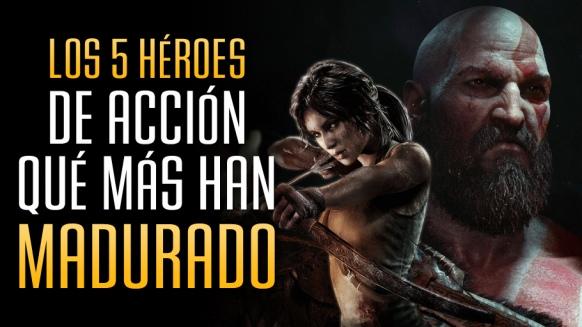 Reportaje de Los 5 Héroes de Acción que más han Madurado