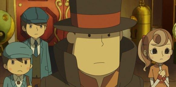 Profesor Layton y el Futuro Perdido: Primer contacto