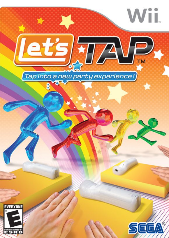 Car�tula de Let's Tap
