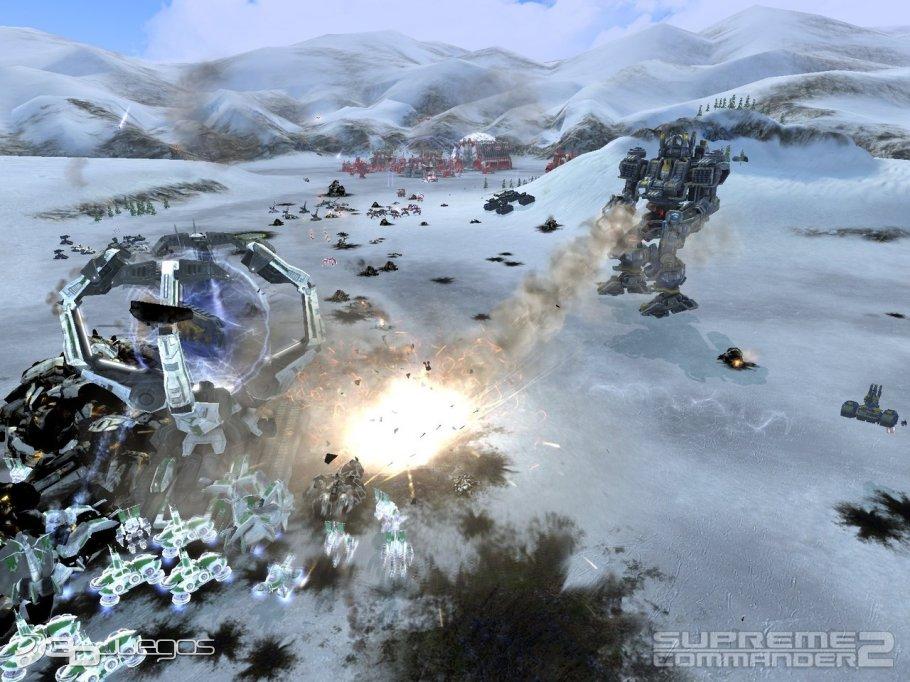 Supreme Commander 2 - Impresiones jugables