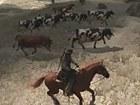 V�deo Red Dead Redemption Gameplay: Llevando el Ganado a Pastar