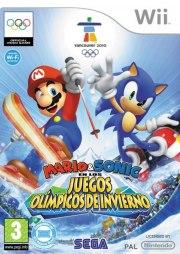 Mario y Sonic Juegos de Invierno Wii