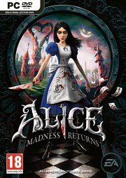 Cartula oficial de Alice: Madness Returns PC