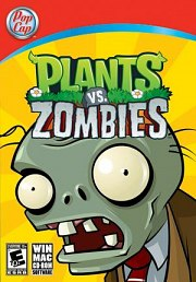 Car�tula oficial de Plants vs. Zombies PC