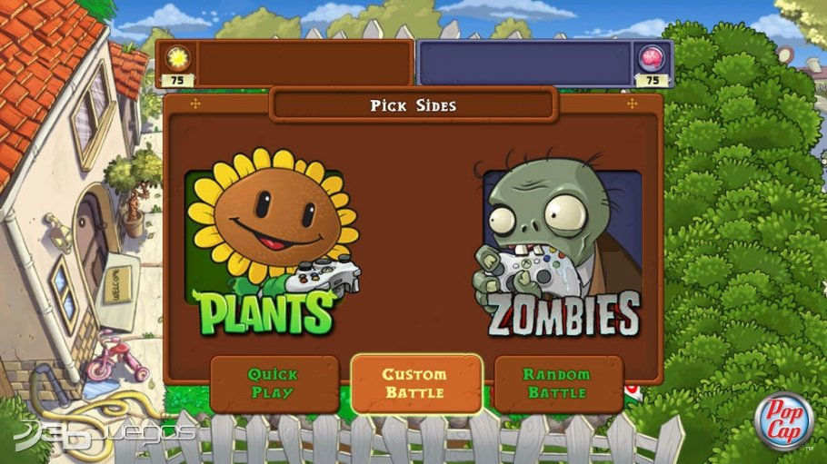 Plants vs Zombies Xbox