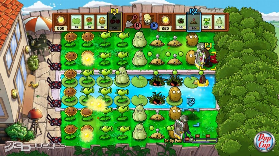 Plants vs. Zombies | Xbox 360 | 3DJuegos.