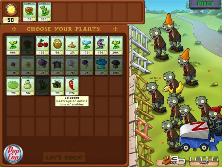 Plants Vs Zombies Para Psp