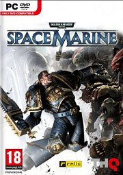 Cartula oficial de Warhammer 40K: Space Marine PC