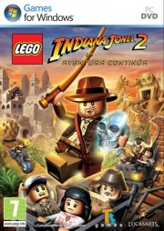 Car�tula oficial de LEGO Indiana Jones 2 PC