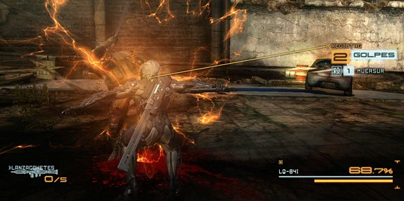 Metal Gear Rising Revengeance (PlayStation 3)