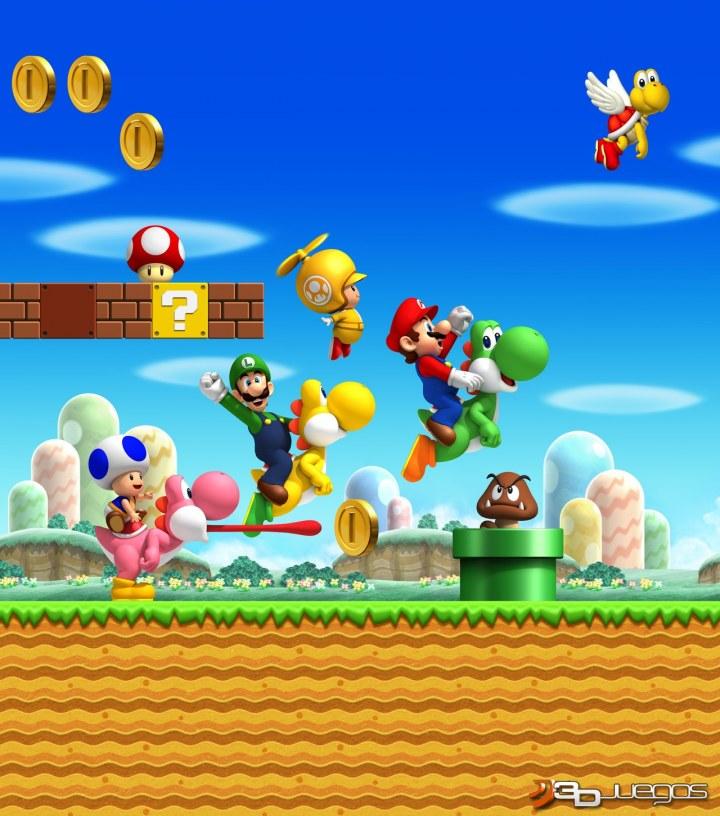 Juegos Mario Bros Wii New Super Mario Bros Wii