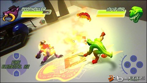 Imgenes de Invizimals para PSP  3DJuegos