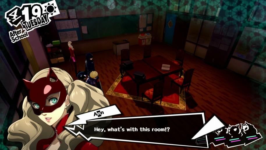 Persona 5: Profesores y demonios