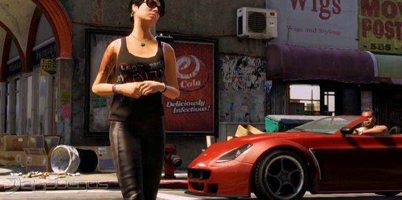 Grand Theft Auto V - Imaginando