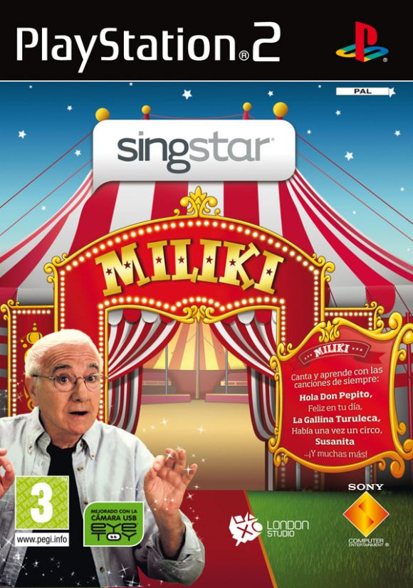 Car�tula de SingStar Miliki