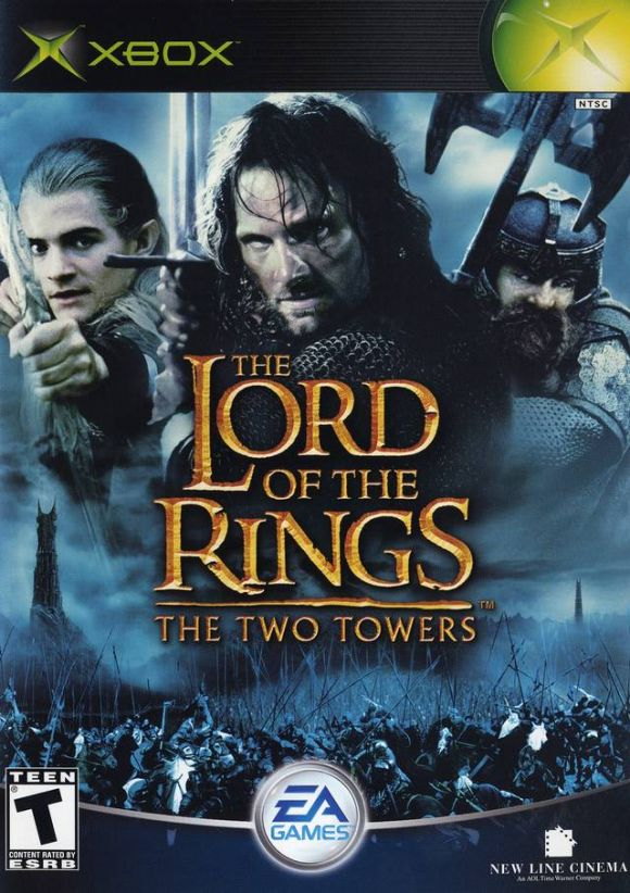 Xbox  Lord Of The Rings Two Towers